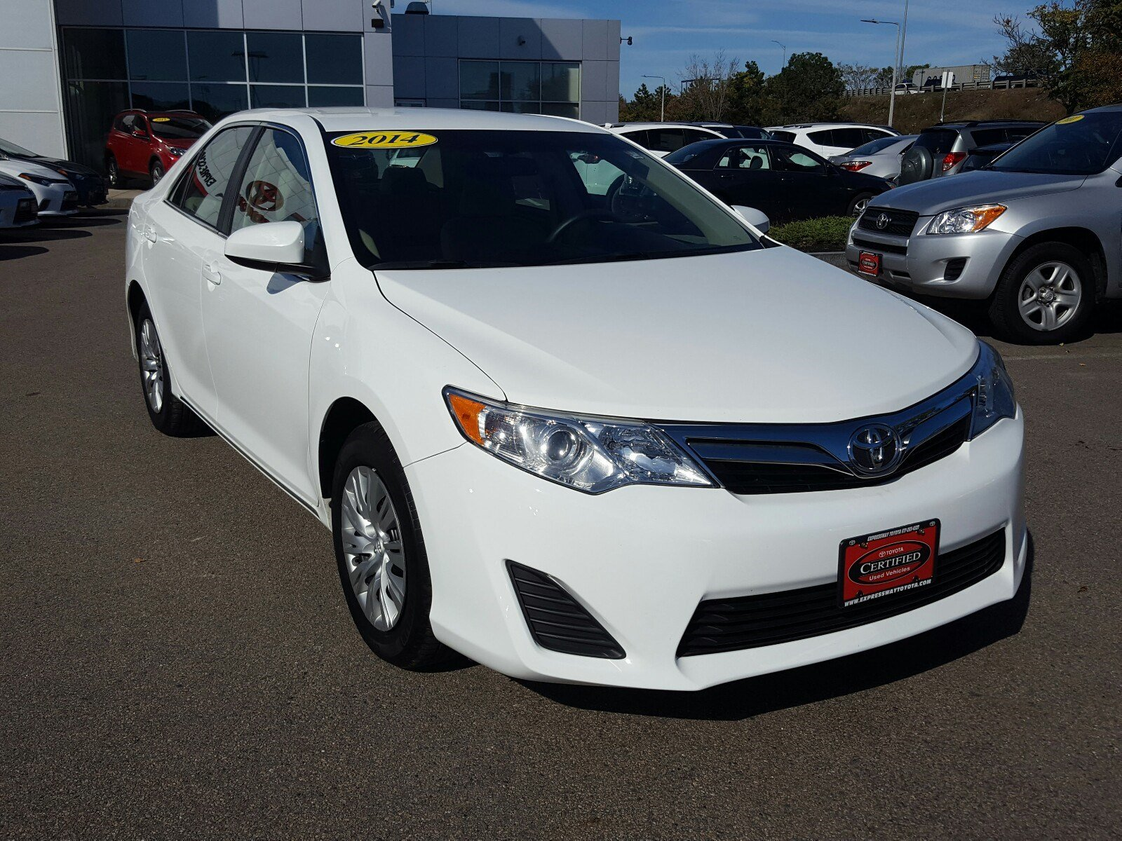 certified pre owned 2014 toyota camry le 4dr car in boston p12645 expressway toyota. Black Bedroom Furniture Sets. Home Design Ideas